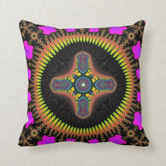 'Solar Seed' Throw Pillow