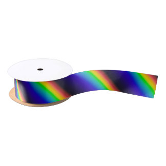 Solar Spectrum Diagonal Satin Ribbon