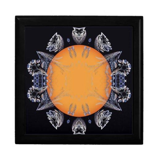 solar spike jewelry box