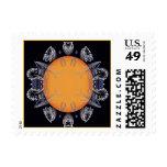 solar spike postage stamp
