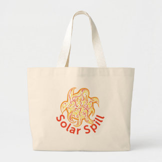Solar Spill Tote Canvas Bag