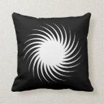 Solar Spiral Twist - Reversable Pillow