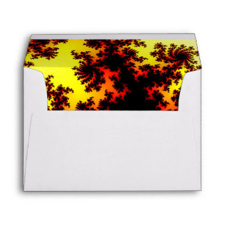 Solar Storm Abstract Envelope