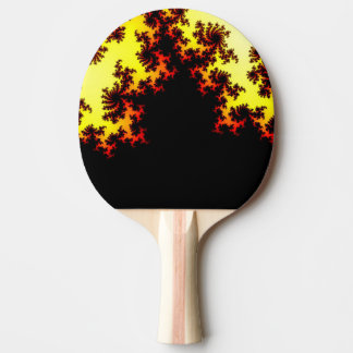 Solar Storm Abstract Ping-Pong Paddle