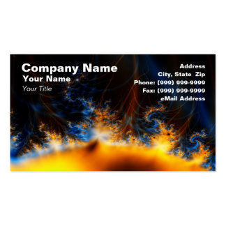 Solar Storm Double-Sided Standard Business Cards (Pack Of 100)