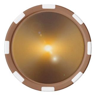 Solar Storm Poker Chips Set