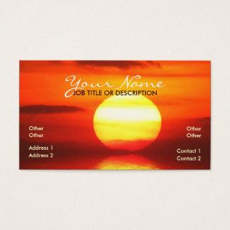 Solar Sun Business Card