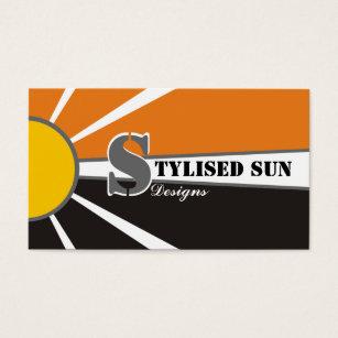 Solar power business cards templates zazzle solarsun energypower alternative sources business card colourmoves Image collections