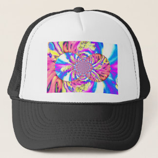 Solar Sunrise Orchid Trucker Hat