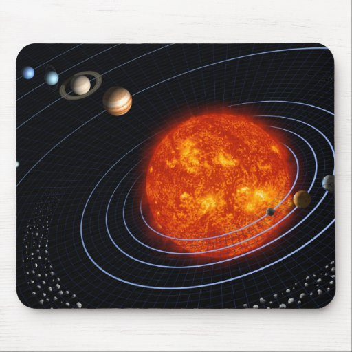 Solar System 8 Mouse Pad