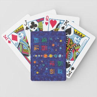 Solar System ABCs Poker Cards