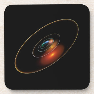 Solar System Abstract Art Coasters