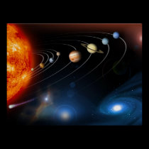 Solar System and Beyond Poster
