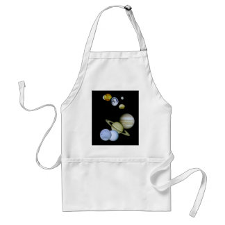 Solar System Apron Space - Astronomy Science gift