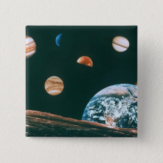 Solar system button
