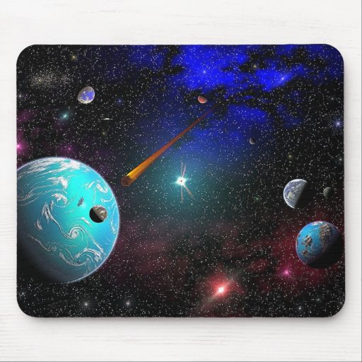 Solar System C-9G6A Mouse Pad