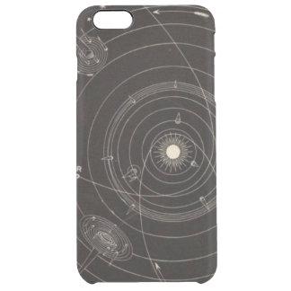 Solar System Comets Stars Vintage Celestial Orbit Clear iPhone 6 Plus Case