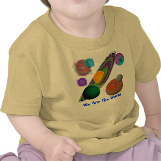 Solar System Design Tee Shirts