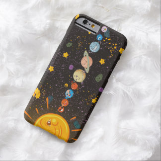 Solar System Funny Planets Barely There iPhone 6 Case
