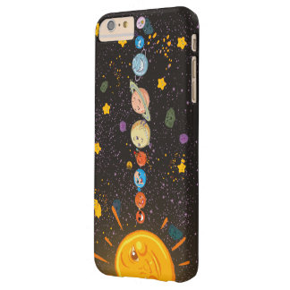 Solar System Funny Planets Barely There iPhone 6 Plus Case