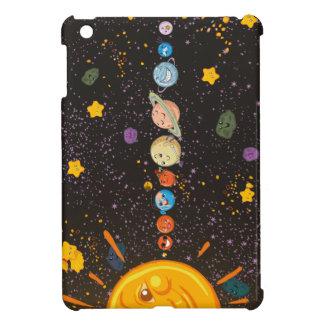 Solar System Funny Planets iPad Case iPad Mini Covers