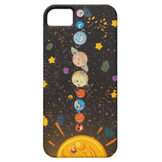 Solar System Funny Planets iPhone SE/5/5s Case