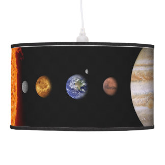 Solar System Inline Outer Space Model Lamp