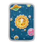 Solar system iPad mini sleeves