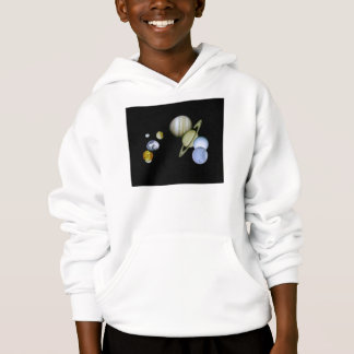 Solar System Kids Hooded Sweatshirt Science gift
