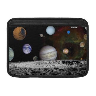 Solar system MacBook air sleeve