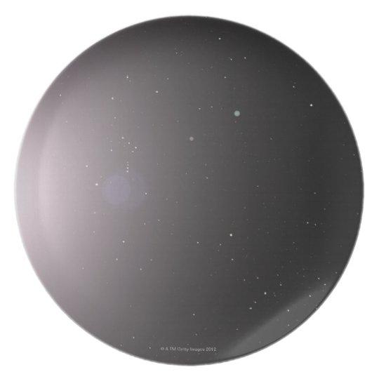 Solar System Melamine Plate