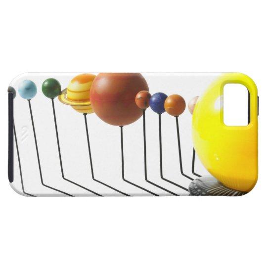 Solar system model on white background 2 iPhone SE/5/5s case