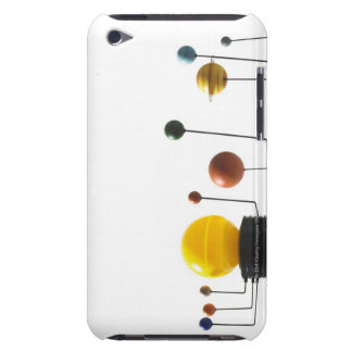 Solar system model on white background 5 iPod Case-Mate case