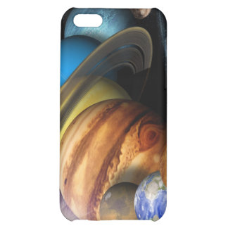 Solar System Montage Case For iPhone 5C