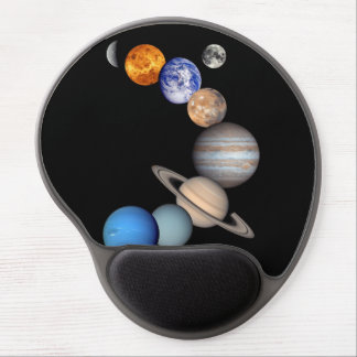 Solar System Montage Gel Mouse Pad