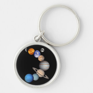 Solar System Montage Key Chains