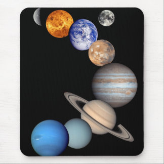 Solar System Montage Mouse Pad