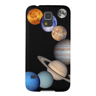 Solar System Montage Planetary Images Galaxy S5 Cases
