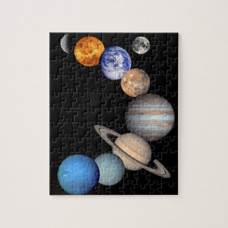 Solar System Montage Puzzles