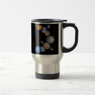 Solar System Montage Travel Mug