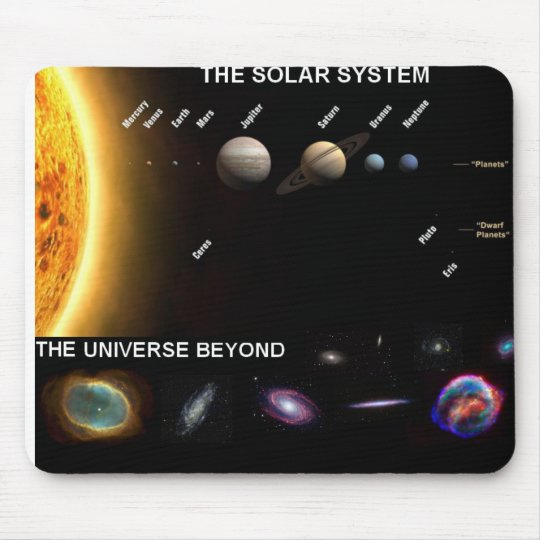 Solar System Mousemat Mouse Pad