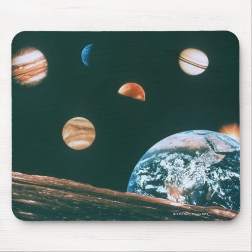 Solar system mousepads