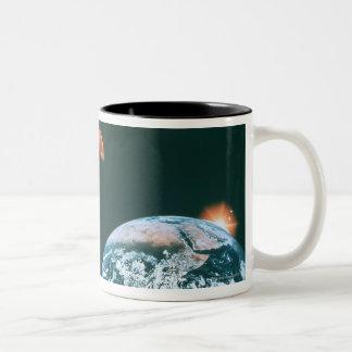 Solar system coffee mugs