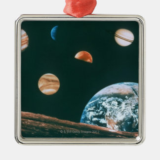 Solar system ornaments