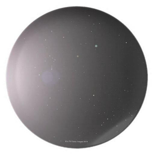 Solar System Party Plate