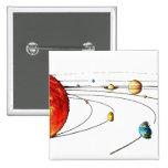 Solar System Pin
