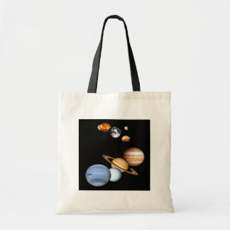 Solar System Planets Bag Budget Tote Bag