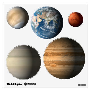 Solar System Planets Wall Decal Part 66