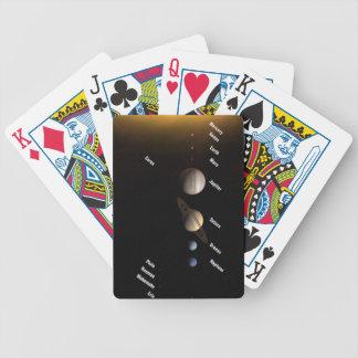 Solar System Poker Deck