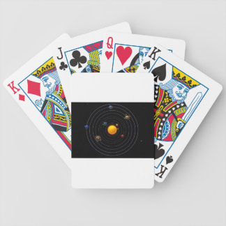 Solar System Playing Cards